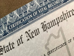 Vital Records Certificates